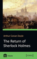 The Return of Sherlock Holmes - фото обкладинки книги