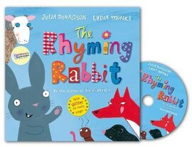 The Rhyming Rabbit Book and CD Pack - фото книги