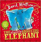 The Slightly Annoying Elephant - фото обкладинки книги