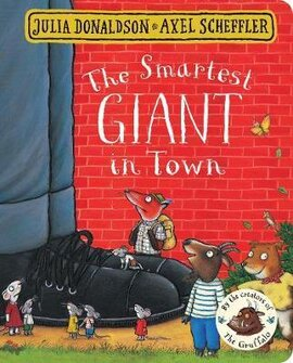The Smartest Giant in Town - фото книги