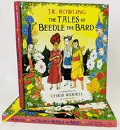 The Tales of Beedle the Bard - Illustrated Edition : A magical companion to the Harry Potter stories - фото обкладинки книги