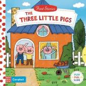The Three Little Pigs - фото обкладинки книги