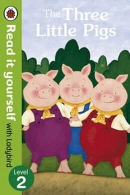 The Three Little Pigs -Read it yourself with Ladybird : Level 2 - фото книги