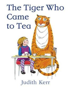 The Tiger Who Came to Tea - фото книги