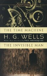 The Time Machine & The Invisible Man - фото обкладинки книги