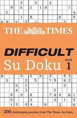 The Times Difficult Su Doku. Book 1 - фото книги