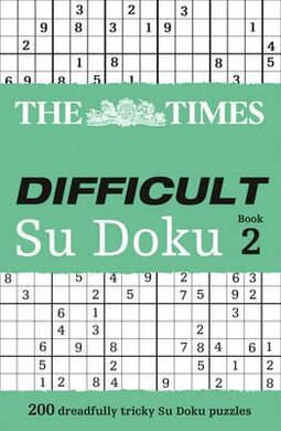 The Times Difficult Su Doku Book 2 : 200 Challenging Puzzles from the Times - фото книги