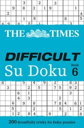The Times Difficult Su Doku Book 6 : 200 Challenging Puzzles from the Times - фото обкладинки книги