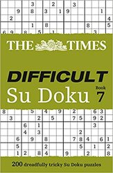 The Times Difficult Su Doku Book 7 : 200 Challenging Puzzles from the Times - фото обкладинки книги