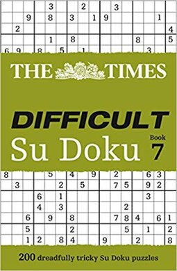 The Times Difficult Su Doku Book 7 : 200 Challenging Puzzles from the Times - фото книги