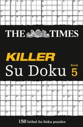 The Times Killer Su Doku 5 : 150 Challenging Puzzles from the Times - фото обкладинки книги
