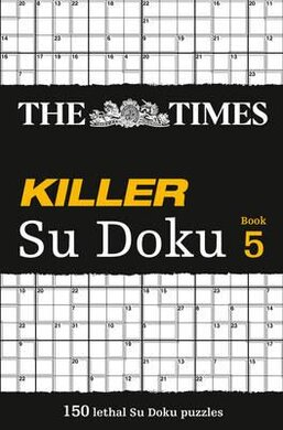 The Times Killer Su Doku 5 : 150 Challenging Puzzles from the Times - фото книги