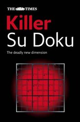 The Times Killer Su Doku Book 1 : 110 Challenging Puzzles from the Times - фото обкладинки книги