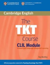 The TKT Course CLIL Module - фото обкладинки книги
