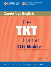 The TKT Course CLIL Module - фото обкладинки книги