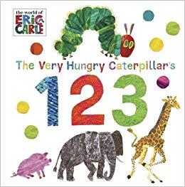 The Very Hungry Caterpillar's 123 - фото книги
