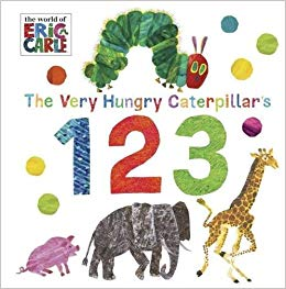 The Very Hungry Caterpillar's 123 - фото книги