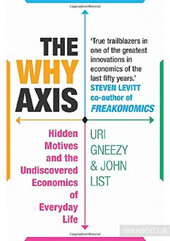 The Why Axis : Hidden Motives and the Undiscovered Economics of Everyday Life - фото обкладинки книги