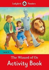 The Wizard of Oz Activity Book - Ladybird Readers Level 4 - фото обкладинки книги