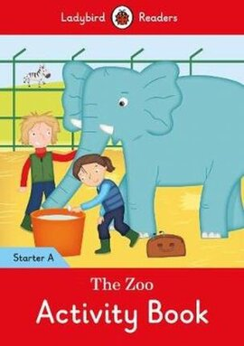The Zoo Activity Book - Ladybird Readers Starter Level A - фото книги