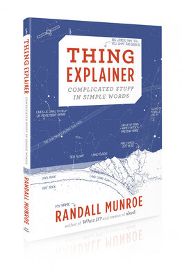 Thing Explainer: Complicated Stuff in Simple Words - фото книги