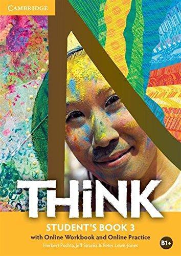 Комплект книг Think Level 3 Student's Book with Online Workbook and Online Practice