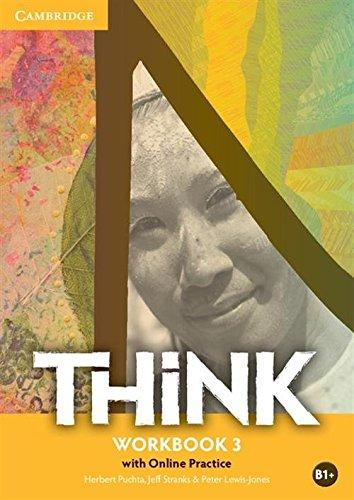 Робочий зошит Think Level 3 Workbook with Online Practice