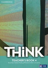 Think Level 4 Teacher's Book - фото обкладинки книги
