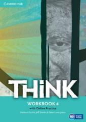 Комплект книг Think Level 4 Workbook with Online Practice