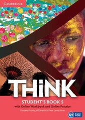 Think Level 5 Student's Book with Online Workbook and Online Practice - фото обкладинки книги
