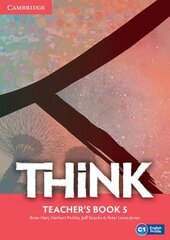 Think Level 5 Teacher's Book - фото обкладинки книги