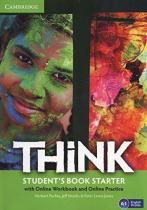 Посібник Think Starter Student's Book with Online Workbook and Online Practice