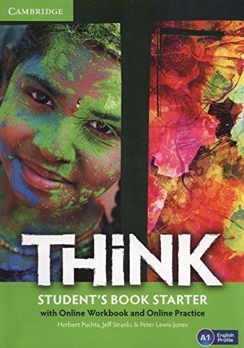 Комплект книг Think Starter Student's Book with Online Workbook and Online Practice