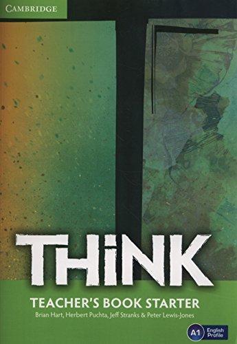 Книга для вчителя Think Starter Teacher's Book