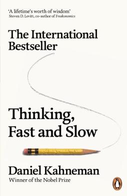 Thinking, Fast and Slow - фото книги
