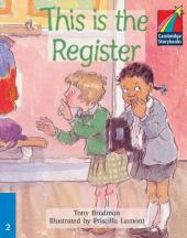 This is the Register Level 2 ELT Edition - фото обкладинки книги