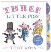 Three Little Pigs (My Favourite Fairy Tales Board Book) - фото обкладинки книги