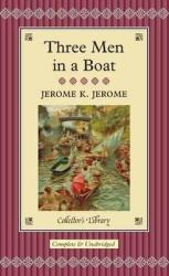 Three Men in a Boat - фото обкладинки книги