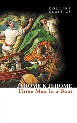 Three Men in a Boat (Collins Classic) - фото обкладинки книги