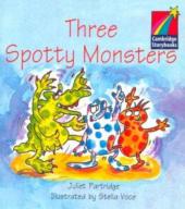 Three Spotty Monsters Level 1 ELT Edition - фото обкладинки книги