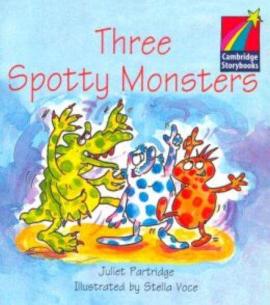 Three Spotty Monsters Level 1 ELT Edition - фото книги
