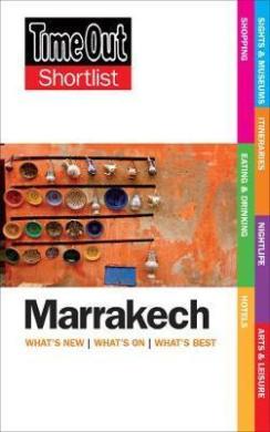Time Out Marrakech Shortlist - фото книги