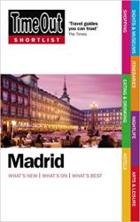 Time Out Shortlist Madrid 1st edition - фото обкладинки книги