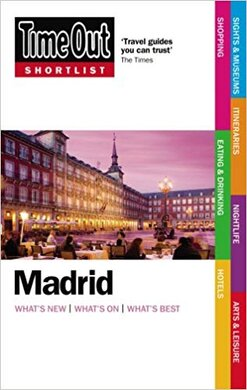 Time Out Shortlist Madrid 1st edition - фото книги
