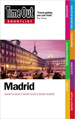 Путівник Time Out Shortlist Madrid 1st edition