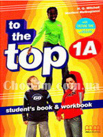 Комплект книг To the Top  1A SB+WB with CD-ROM with Culture Time for Ukraine