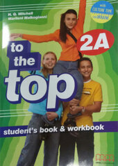 To the Top  2A Student's Book+WB with CD-ROM with Culture Time for Ukraine - фото обкладинки книги