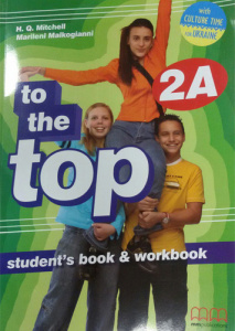 To the Top  2A Student's Book+WB with CD-ROM with Culture Time for Ukraine - фото книги