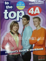 To the Top  4A Student's Book+WB with CD-ROM with Culture Time for Ukraine - фото обкладинки книги