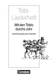 Tobi- Mit den Tobis durch das Jahr Handreichungen fur den Unterricht (додаткові дидактичні матеріали) - фото обкладинки книги